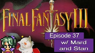 The Basement - Final Fantasy III (SNES) Ep. 37 - Mine Cart Capers