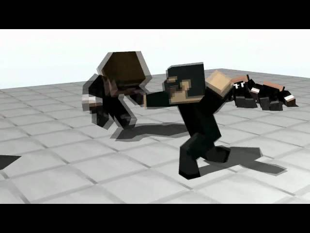 Minecraft Matrix Blender