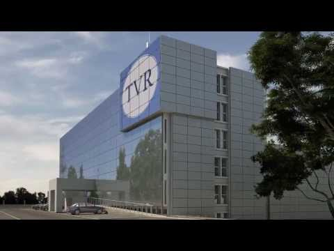 Infostudio - Architectural visualization Radio Television Rwanda