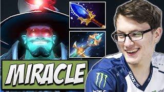 Liquid.Miracle Storm Spirit - Aghanims Build | Dota Gameplay