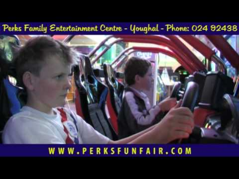 Fun Rides & Games at Perks Family Entertainment Centre - Youghal Co. Cork Ireland