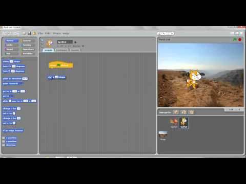 scratch basics- running back and forth
