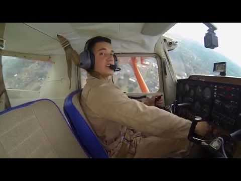 Marion Military Institute Flying Tigers - Solo Flight Footage