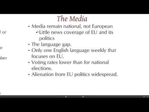 Political society & culture: The European Union