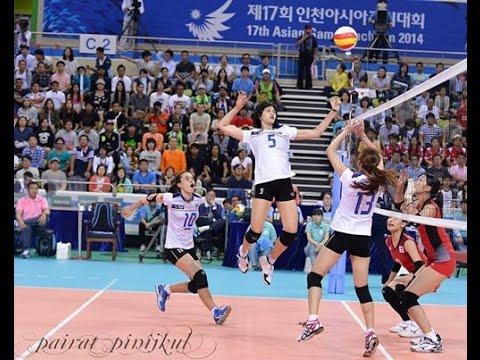 Asian Games 2014 Women Volleyball Thailand VS Japan : Sep 21st, 2014 : Full Match