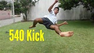 (PASSO A PASSO)540° Kick/PARAFUSO DE PRESSÃO PT BRASIL
