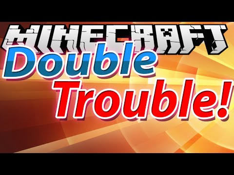 Minecraft: Double Trouble - Minigame: iRaphahell + XSLAYDER - Part 2 ?!