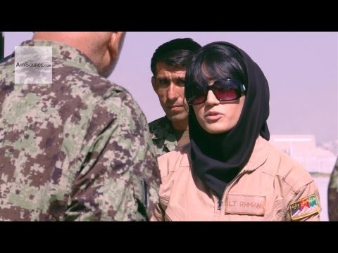 First Fixed-Wing Combat Sortie Flown by an Afghan Air Force Female Pilot | AiirSource