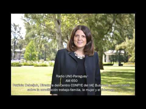 Patricia Debeljuh en Radio UNO Paraguay