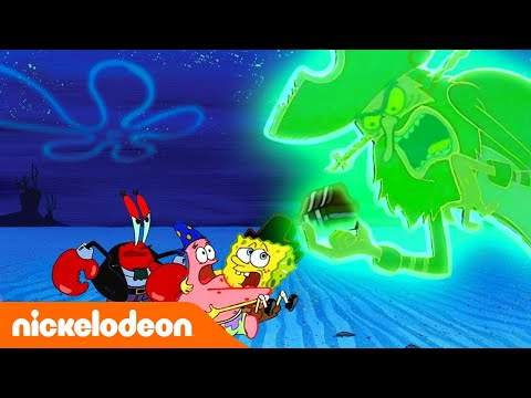 Губка Боб Золотые моменты: Сокровища Летучего Голландца | Nickelodeon Россия