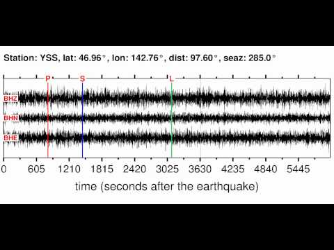 YSS Soundquake: 12/3/2011 02:14:44 GMT