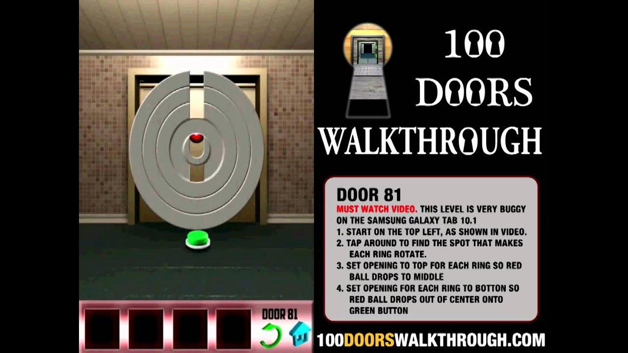 100 doors 81 100 doors level 81 android walkthrough for 100 door walkthrough