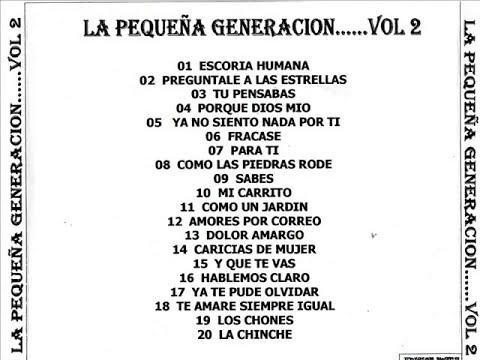LA PEQUEÑA GENERACION  - (SUERTE HE TENIDO)