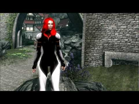 The Elder Scrolls V: Skyrim - Fiora Armor Set Mod