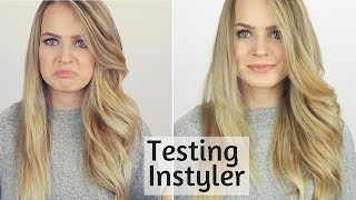I Try the Instyler for the First Time!