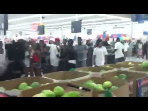 Walmart Party/ food fight