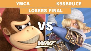 WNF 2.7 YMCA (Donkey Kong) vs K9sbruce (Sheik, Wolf) - Losers Final - Smash Ultimate