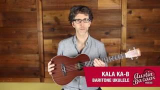 Kala KA-B Baritone Ukulele Demo