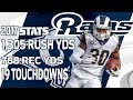 Todd Gurley& 39;s Top Plays From The 2017 Season Nfl Highlights