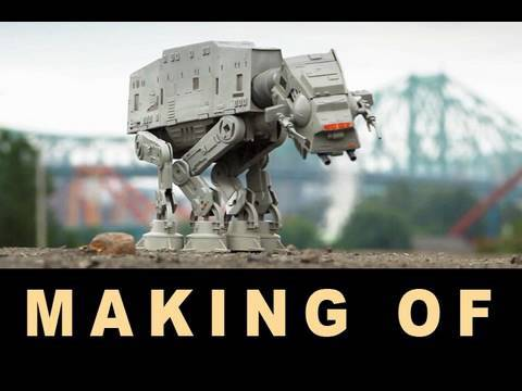 Making of AT-AT day afternoon