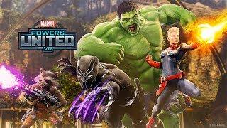 MARVEL Powers United VR    Black Panther: Team Gameplay   Oculus Rift
