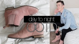 Winter DAY-TO-NIGHT OOTD LOOKBOOK | men