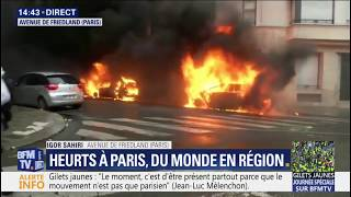 Gilets Jaunes - Violences a Paris