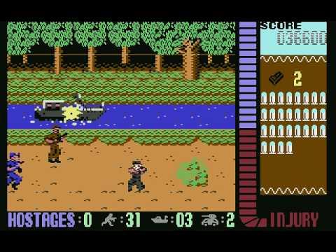 Operation Wolf (c64) longplay 1/2