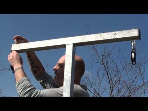 How to set up a Washing Line kit