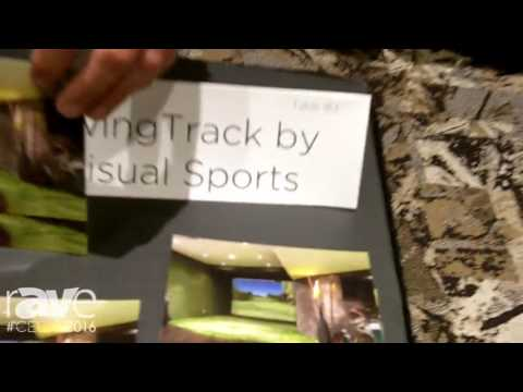 CEDIA 2016: SwingTrack Shows New Golf Simulator with HD Wide Screen