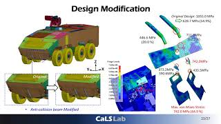 Design & Analysis of Eight-Wheel Armored Vehicle Structure