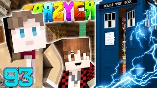 Minecraft Crazy Craft 3.0: HOW TO TIME TRAVEL, DOCTOR WHO TARDIS MOD! #93 (Moded Roleplay)