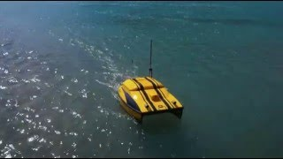 ESM30 water sampling & monitoring USV unmanned boat
