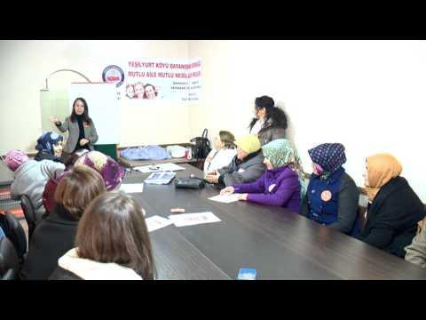 Mahmudiyeli Kadınlara Girişimcilik Eğitimi 21/12/2015