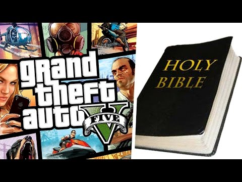 Sure Ban Grand Theft Auto V But Ban The Bible Too