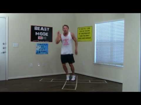 20 Min Hot Feet Workout to Burn Fat - HASfit Exercises to Burn Fat - Calorie Fat Burning Workouts