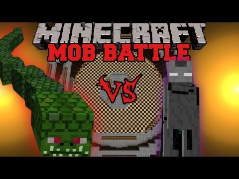 Naga Vs. Ender Lord - Minecraft Mob Battles - Twilight Forest and Legendary Beast Mods