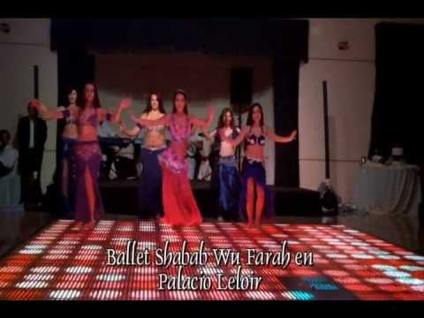 Show del Ballet Shabab Wu Farah en Palacio Leloir - Atelier de la Danza