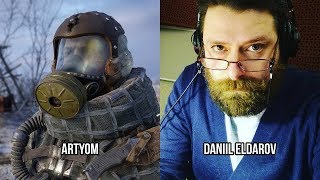 Characters and Voice Actors - Metro Exodus (English and Russian)