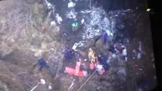 ताप्लेजुङमा हेलिकोप्टर दुर्घटना ॥ यसरी गरिदैछ उद्धार॥ Helicopter Crash In Taplejung