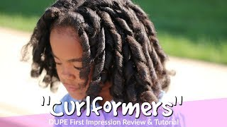 """Curlformers"" Dupe First Impression Demo & Tutorial 
