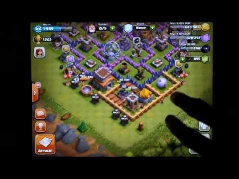 Clash of Clans Town Hall Level 8 Farming Defense - Changes and Replays