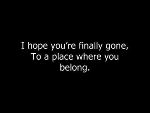 Bullet For My Valentine A Place Where You Belong LYRICS