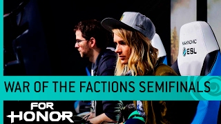 For Honor: War of the Factions Live Semifinals - Knights vs. Samurai (Multiplayer Gameplay) [US]