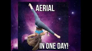 HOW TO GET your AERIAL in ONE-DAY