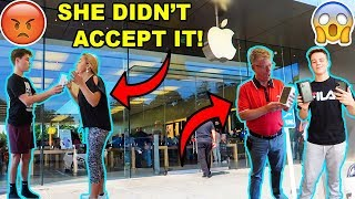 SURPRISING MY FAMILY WITH THE IPHONE 11! *BAD IDEA*
