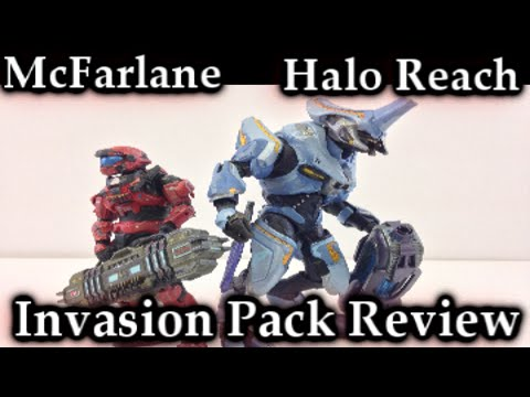 McFarlane Halo Reach   Invasion Two Pack Review
