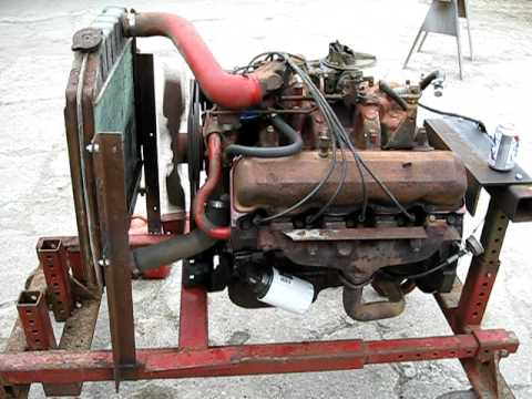International Harvester V345 Engine