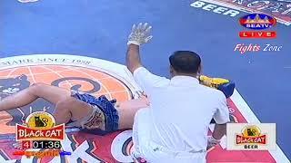 Kun Khmer, Chhun Panha Vs Thai, Phatphakorn, SEATV boxing, 12 Feb 2017, Black Cat arena