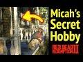 Micah Bells Secret Hobby in Red Dead Redemption 2 (RDR2): ManBearPig Easter Egg & Van Horn Mansion